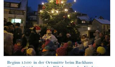 Weihnachtsmarkt in Oberaichen