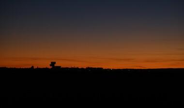 Filderkaut nach Sonnenuntergang
