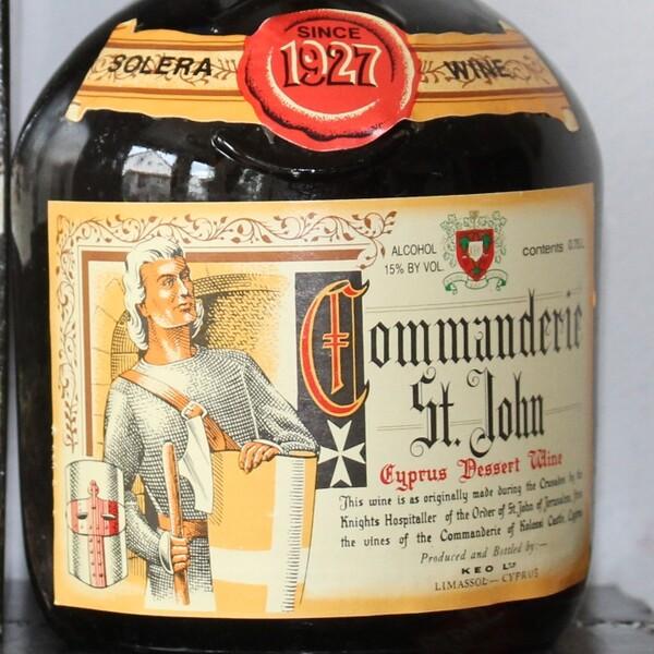 1927 Commanderie St. John Zypern Dessert Wein