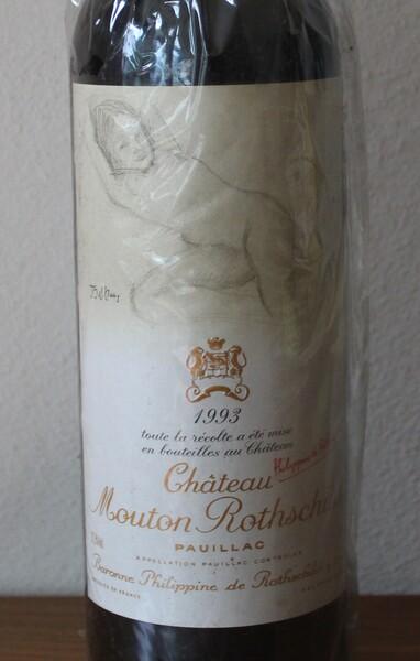 1993 Chateau Mouton Rothschild, 1erGrand Cru Classé Pauillac