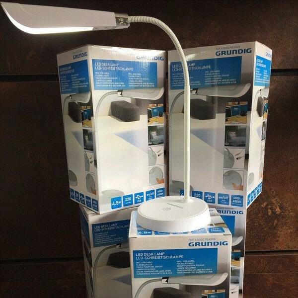 Kabellose LED-Schreibtischleuchte von Grundig