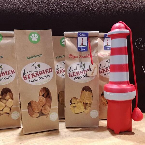 Keksdieb Sanddorn Ostsee Edition - 100% natürliche Hundekekse