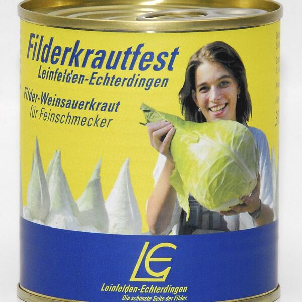 Weinsauerkraut für Feinschmecker (300g-Dose)   Sauerkraut