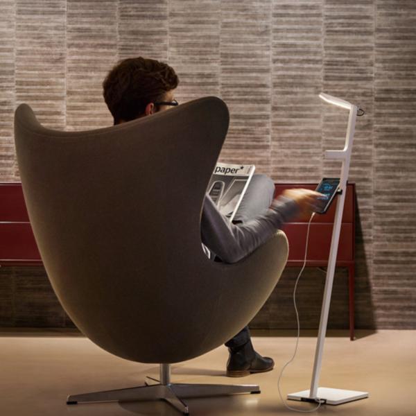 nimbus Leseleuchte - LED-Design ohne Kabel (Stehlampe)