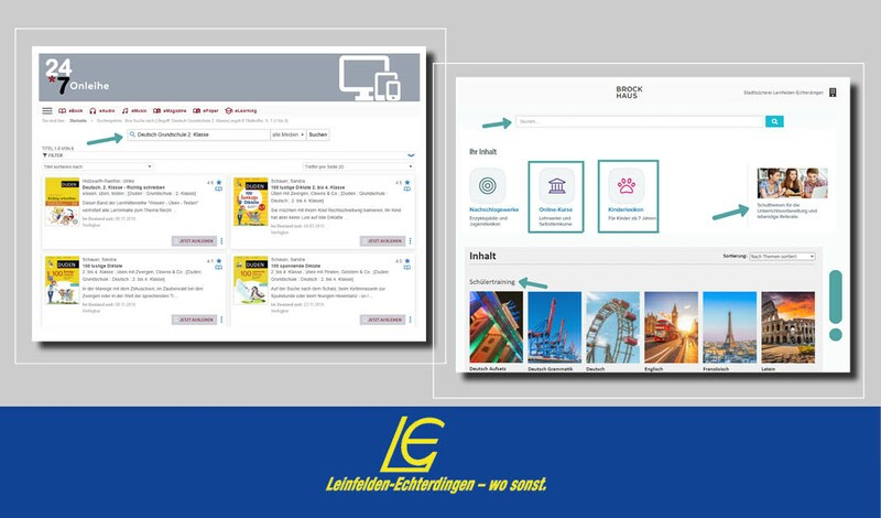 Tipp: Angebote der Stadtbücherei LE für das Homeschooling