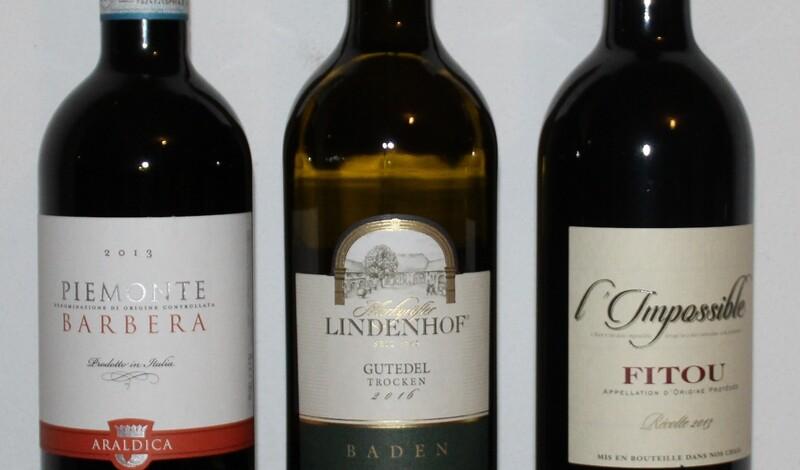 Weinprobe Frankreich, Baden und Piemont
