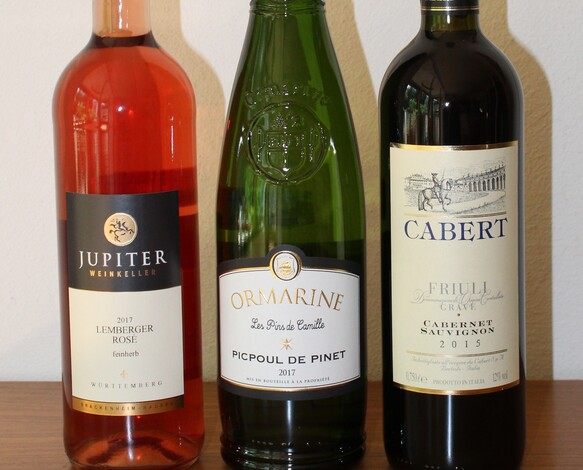 Weinprobe Italien, Frankreich und Württemberg