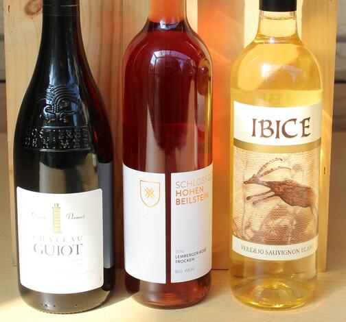 Einladung zur Weinprobe - AKTION  Frankreich-Spanien-Württemberg