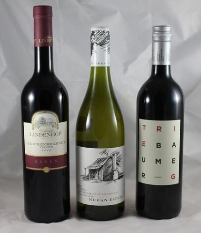 Einladung zur Weinprobe-Aktion Baden-Burgenland-Australien