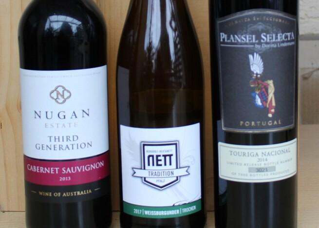 Einladung: Weinprobe Pfalz, Australien und Portugal