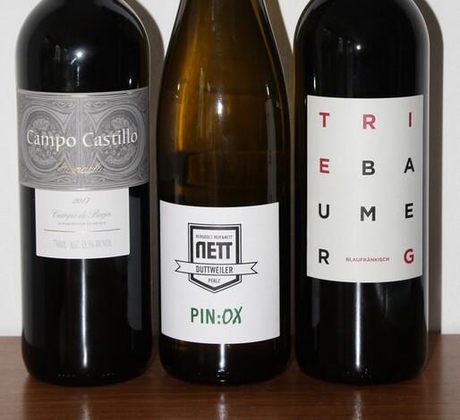 Weinprobe Burgenland - Pfalz und Spanien
