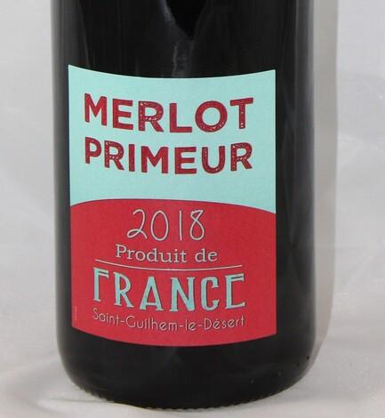 der erste Primeur ist eingetroffen - Merlot aus Südfrankreich