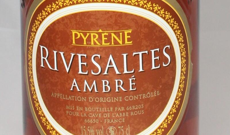 AKTION Pyrene Rivesaltes Ambré AOC