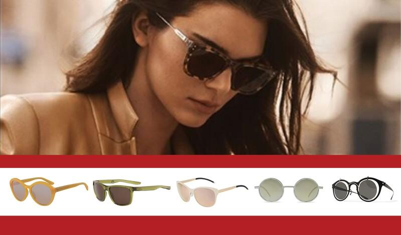 Sonnenbrillen-Trends 2020: Es wird farbig, geometrisch, gemustert