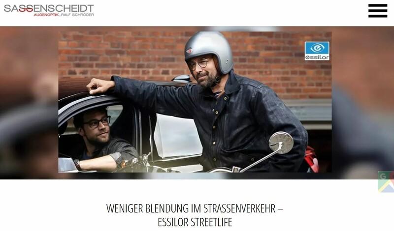 Weniger Blendung im Straßenverkehr – Essilor Streetlife bei Optik Sassenscheidt