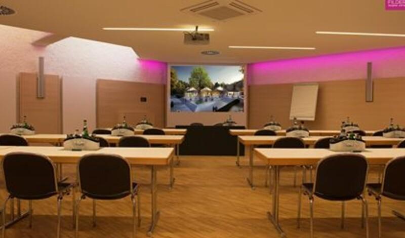 Studio I in der Filderhalle startklar für innovative und effiziente Seminare