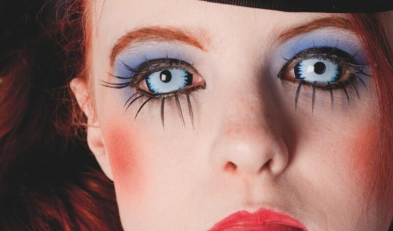 Fun-Kontaktlinsen zu Halloween
