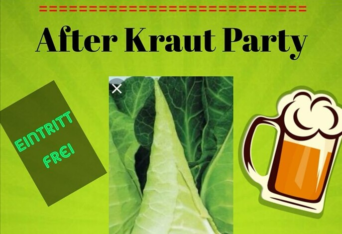After Kraut Party in der FUX Sportbar + Lounge