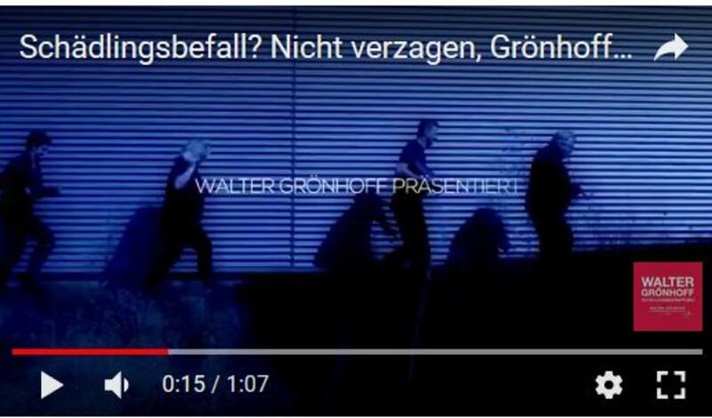 wie cool ist das denn: Schädlingsbekämpfer mit youtube-Kanal