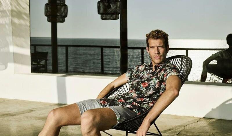 LE trägt Hawaii-Hemden - lässiger Sommerlook für IHN