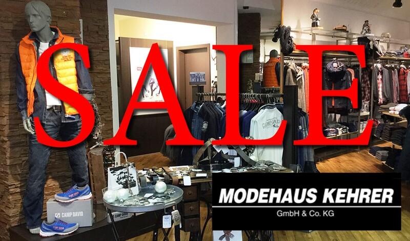 BIG SALE bei Modehaus Kehrer - weitere 30% auf alle Herbst / Winterware