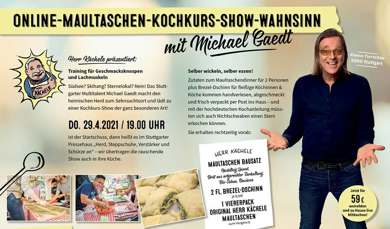 Maultaschen-Kochkurs-Show mit Michael Gaedt