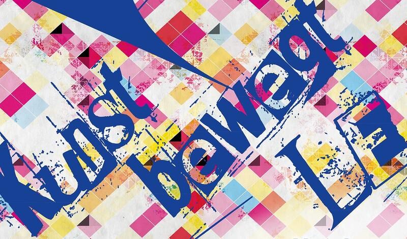Kunst bewegt LE Plakat