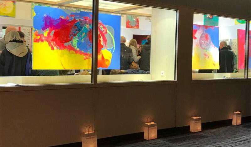 Kunst bewegt LE bei Sassenscheidt mit Gyjho Frank