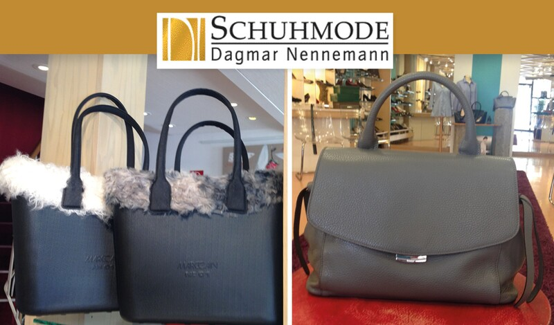 Große Taschenparade bei Schuhmode Nennemann