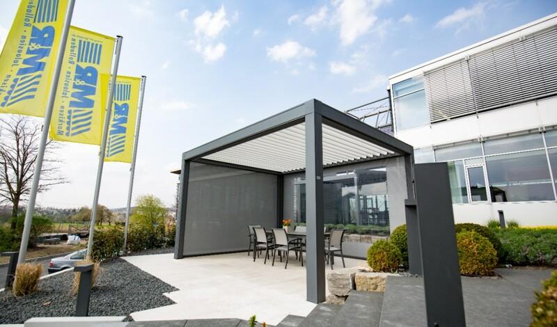 Gartenausstellung bei MR METTLER - Terrassen- und Lamellendächer