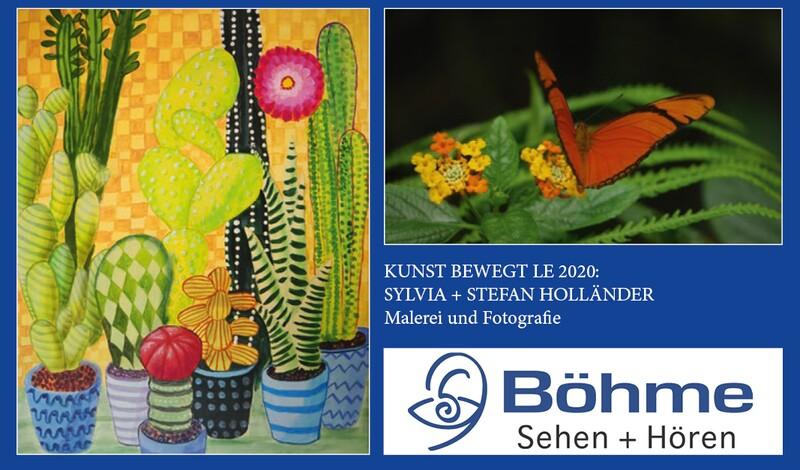 BÖHME präsentiert Sylvia und Stefan Holländer | Malerei und Fotografie