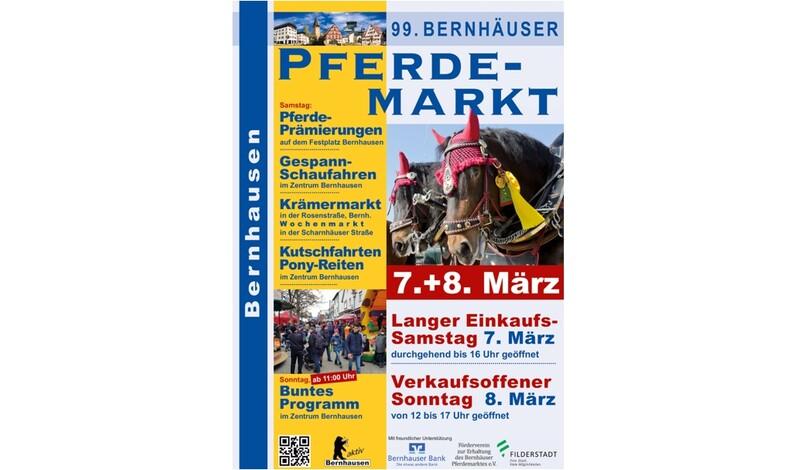 Bernhäuser Pferdemarkt - Einkaufswochenende in Filderstadt