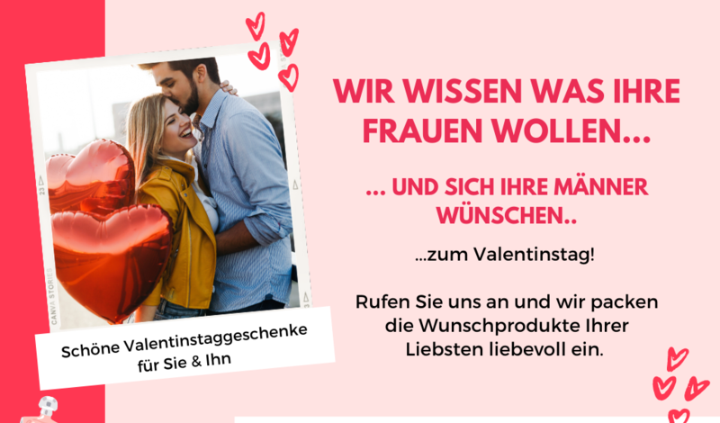 Immer ein Volltreffer: duftende und pflegende Überraschungen zum Valentinstag
