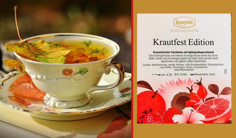 Exklusiv bei Tee+Bohne: Ronnefeldt Krautfest Edition
