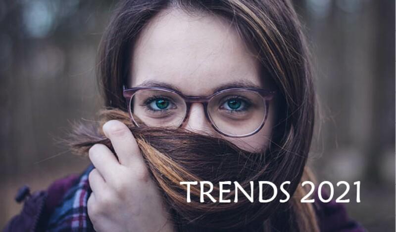 Brillentrends 2021: Im Zeichen von Retro-Vibes, Powerfarben und der Liebe zur Natur