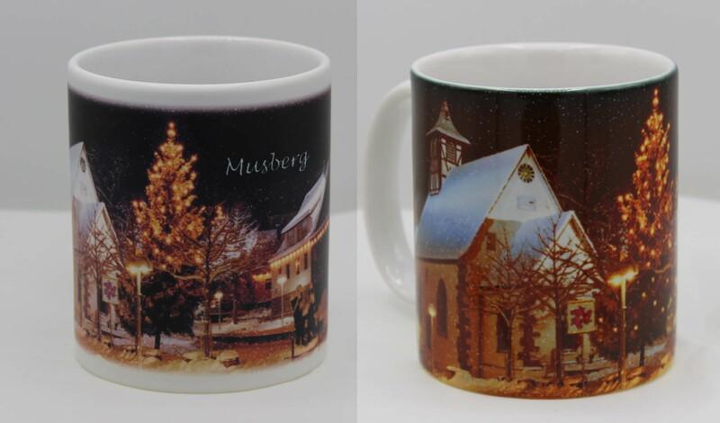 """Geschenktipp: Weihnachtstassen Motiv """"Musberg"""""""