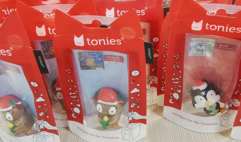 Die ersten tonies® zur Weihnachtszeit sind eingetroffen, bei Buchhandlung Ebert in Echterdingen
