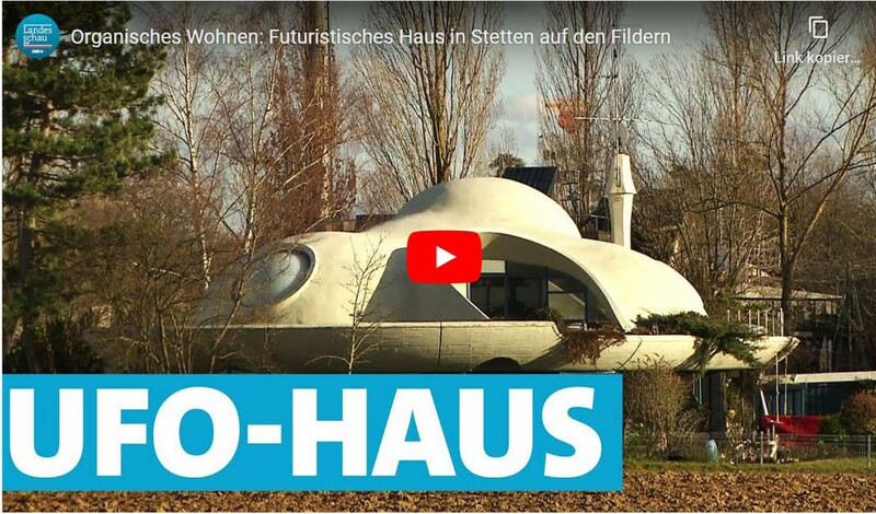 """Organisches Wohnen - Das """"UFO-Haus"""" auf dem TUDK Theatergelände"""