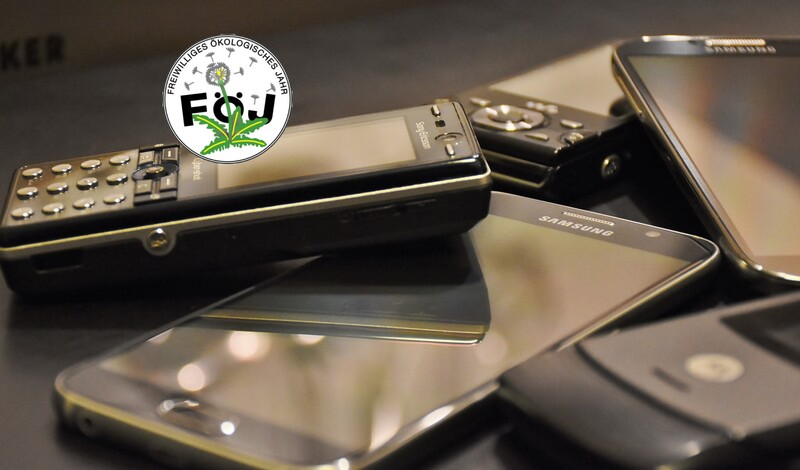 Sammelaktion alte Handys - Abgabe im Rathaus Echterdingen