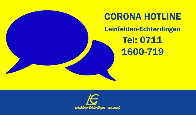 Stadt schaltet ab sofort Corona-Hotline