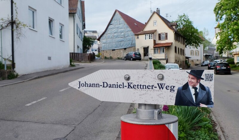 Johann-Daniel-Kettner-Weg - Ortsgeschichtlicher Wanderweg durch Musberg