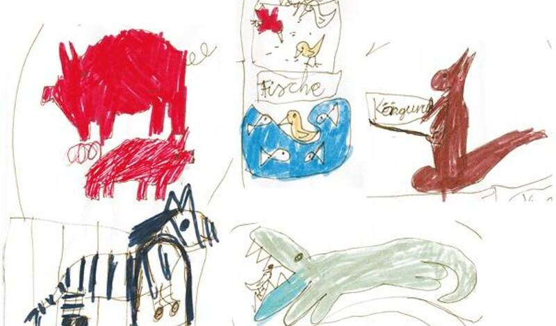 Ausstellung: Kinder malen Tiere - tierisch schön!