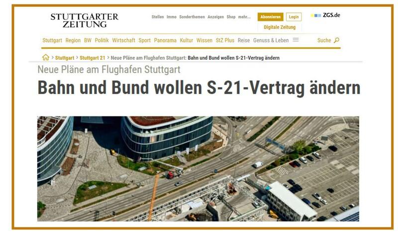OB Klenk begrüßt veränderte Gäubahn-Planung