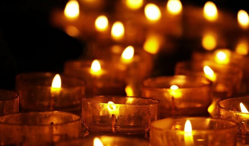 Gemeinsames Gedenken an die Verstorbenen