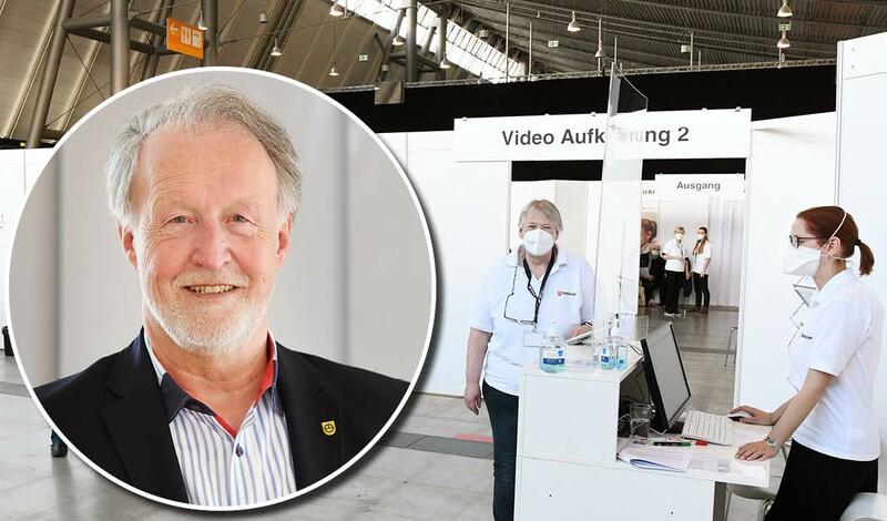 """Oberbürgermeister Roland Klenk:""""Nutzen Sie die Chance auf eine Impfung!"""