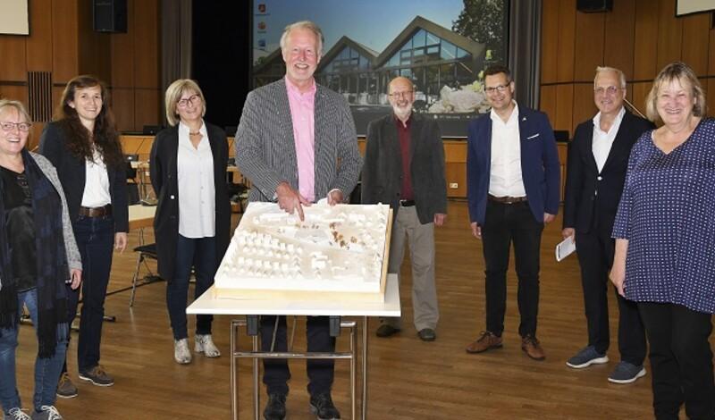Entwürfe für neues Hallenbad in Leinfelden