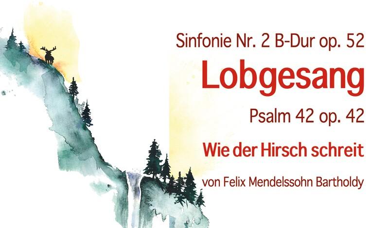 Chor- und Orchesterkonzert: Lobgesang (F.M. Bartholdy)