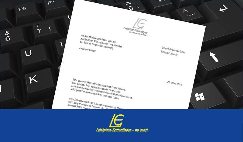 OB Klenk wendet sich mit offenem Brief an Ministerpräsident Kretschmann