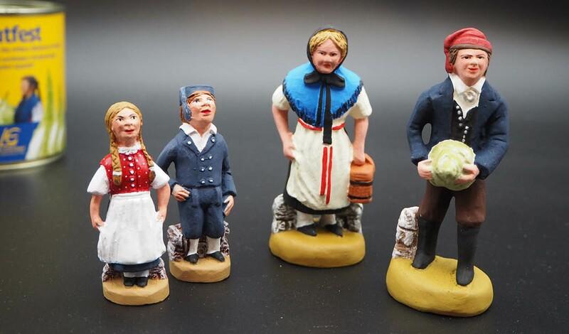 Echterdinger Tracht en miniature direkt aus der Provence