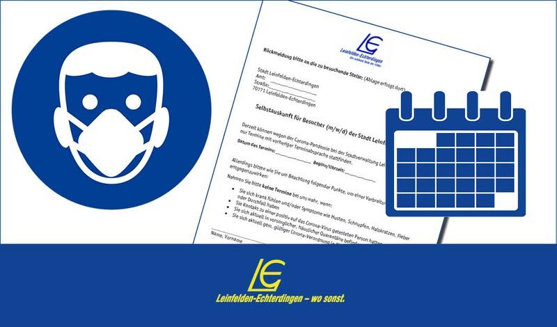 Städtische Ämter + Servicestellen können ab 8.3. wieder besucht werden - Maskenpflicht + Selbstauskunft